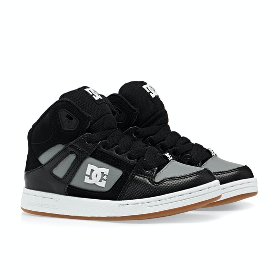 DC Pure High Top Boys Shoes