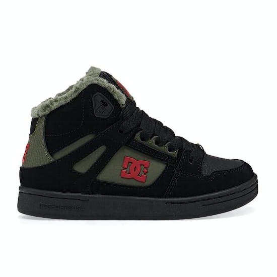 DC Pure Hight Top Winter Jungen Schuhe