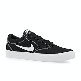 Chaussures Nike SB Charge Solarsoft - Black White Gum Brown
