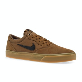 Chaussures Nike SB Chron Solarsoft - Tan Black Gum Brown