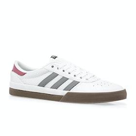 Adidas Lucas Premiere Shoes - White/grey/gum