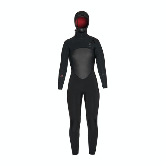 Xcel Drylock Hooded 6/5mm Womens Wetsuit