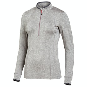 Schockemöhle Page Style Ladies Top - Grey Melange Cherry