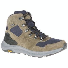 Прогулочные туристические ботинки Merrell Ontario 85 Mid Waterproof - Olive
