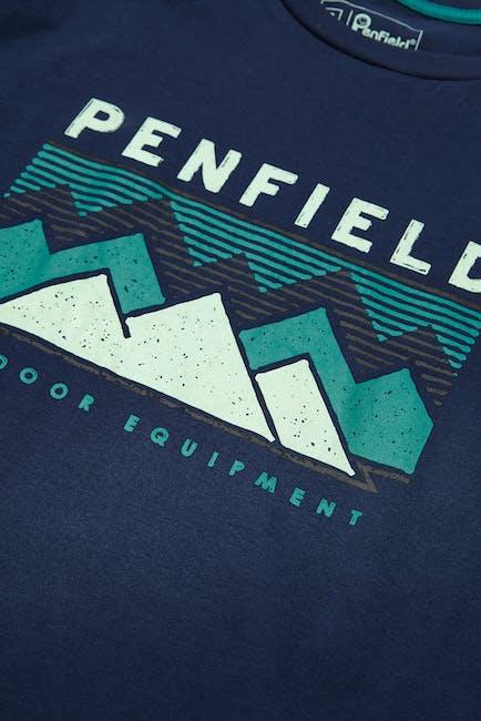 Penfield Tirolia Kurzarm-T-Shirt