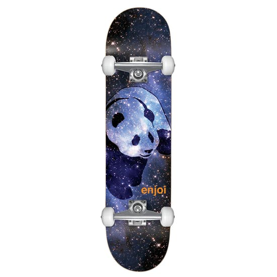 Enjoi Cosmos Panda Sft Whls Comp Skateboard