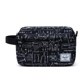 Herschel Chapter Wash Bag - Basquiat Beat Bop