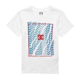 T-Shirt a Manica Corta DC Double Door - Snow White