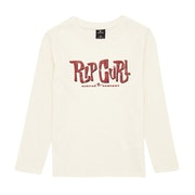 T-Shirt à Manche Longue Rip Curl Typo Boy