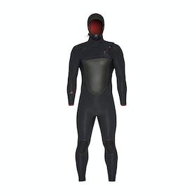 Xcel Drylock X Hooded 5/4mm Wetsuit - Black