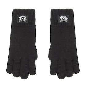 Animal Orium Knitted Boys Gloves - Black