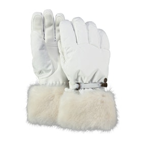Barts Empire Womens Snow Gloves - White