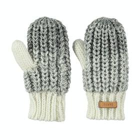 Barts Stids Mitts Baby Gloves - Heather Grey