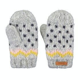 Barts Thumper Mitts Baby Gloves - Heather Grey