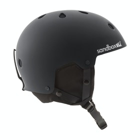 Sandbox Legend Snow Ski Helmet - Black