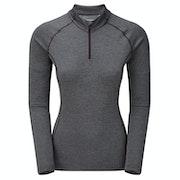 Montane Dart Zip Neck Womens Long Sleeve T-Shirt