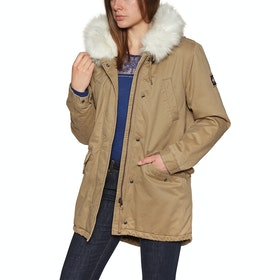Superdry Falcon Rookie Parka Womens Jacket - Camel