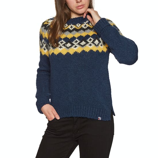 Superdry Savannah Yoke Jacquard Knit Womens Knits