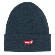 Levi's Red Batwing Embroidered Slouchy Beanie