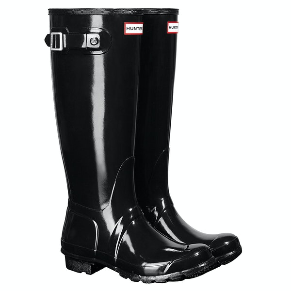 Hunter Original Tall Gloss Womens Holínky