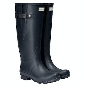 Stivali di Gomma Hunter Norris Wide Fit - Navy