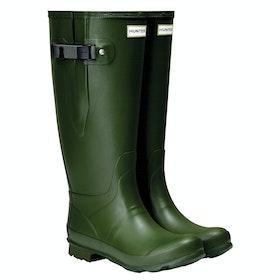 Stivali di Gomma Hunter Norris Wide Fit - Vintage Green