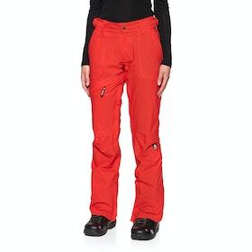 Nikita White Pine Stretch Snow Pant - Red