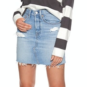 Levi's Deconstructed Iconic Boyfriend Skirt