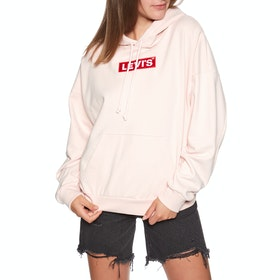 Levi's Graphic 2020 Pullover Hoody - Hoodie Box Tab Nylon Twill Peach Blush