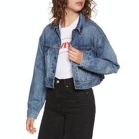 Levi's Crop Dad Trucker Bunda - Dad Tom