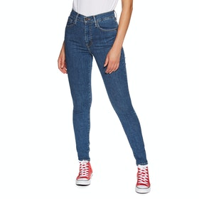 Jeans Donna Levi's Mile High Super Skinny - Tempo So Stoned