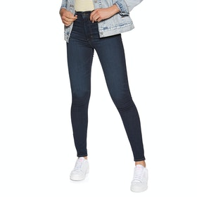 Levi's Mile High Super Skinny Womens ジーンズ - Echo Darkness