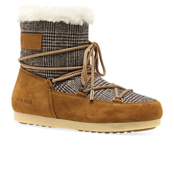 Moon Boot Far Side Low Faux Fur Kvinner Støvler