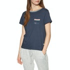 Roxy Broken Lines Short Sleeve T-Shirt
