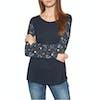 Animal Illusion Long Sleeve T-Shirt - Sky Captain Blue