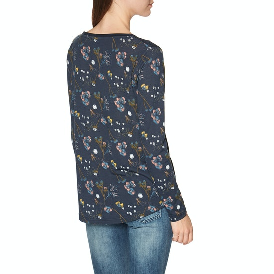 Animal Illusion Womens Long Sleeve T-Shirt