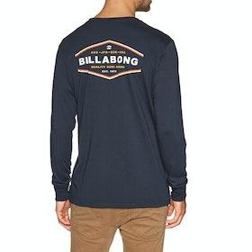Billabong Vista Long Sleeve T-Shirt - Navy