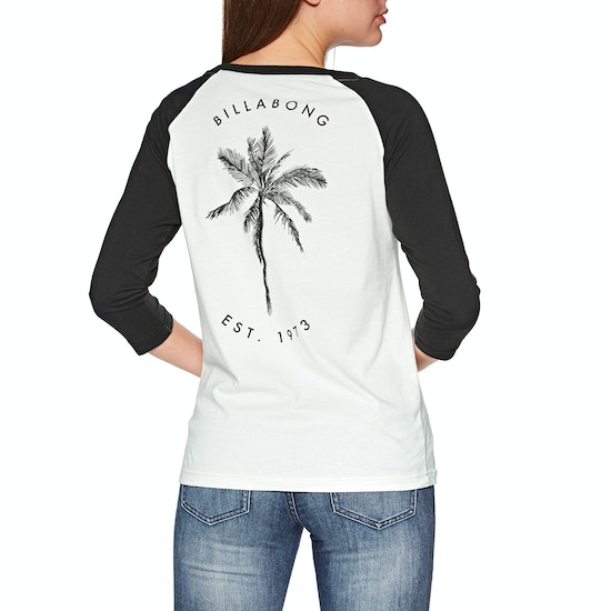 Billabong Eye Sea Sky Ladies Long Sleeve T-Shirt