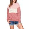 Billabong Pink Mood Womens Pullover Hoody - Stone Rose