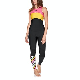 Roxy 1.5m Pop Long John Womens Wetsuit - Black