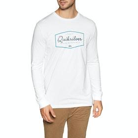 Quiksilver Inside Lines Long Sleeve T-Shirt - White