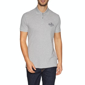 Chemise Polo Quiksilver Miz Kimitt - Light Grey Heather