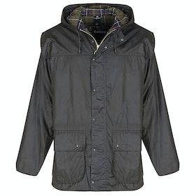 Barbour Classic Durham Wax Jacket - Olive