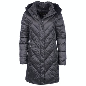 Barbour Reesdale Quilt Ladies Jacket - Ash Grey
