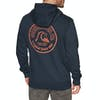 Quiksilver Daily Wax Screen Fleece Pullover Hoody - Sky Captain