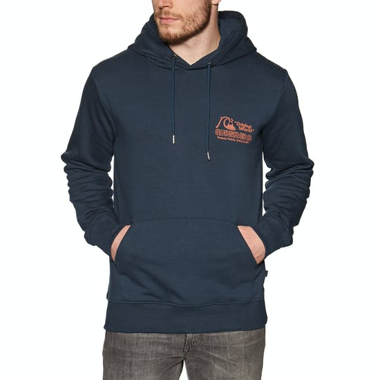 Quiksilver Daily Wax Screen Fleece Pullover Hoody