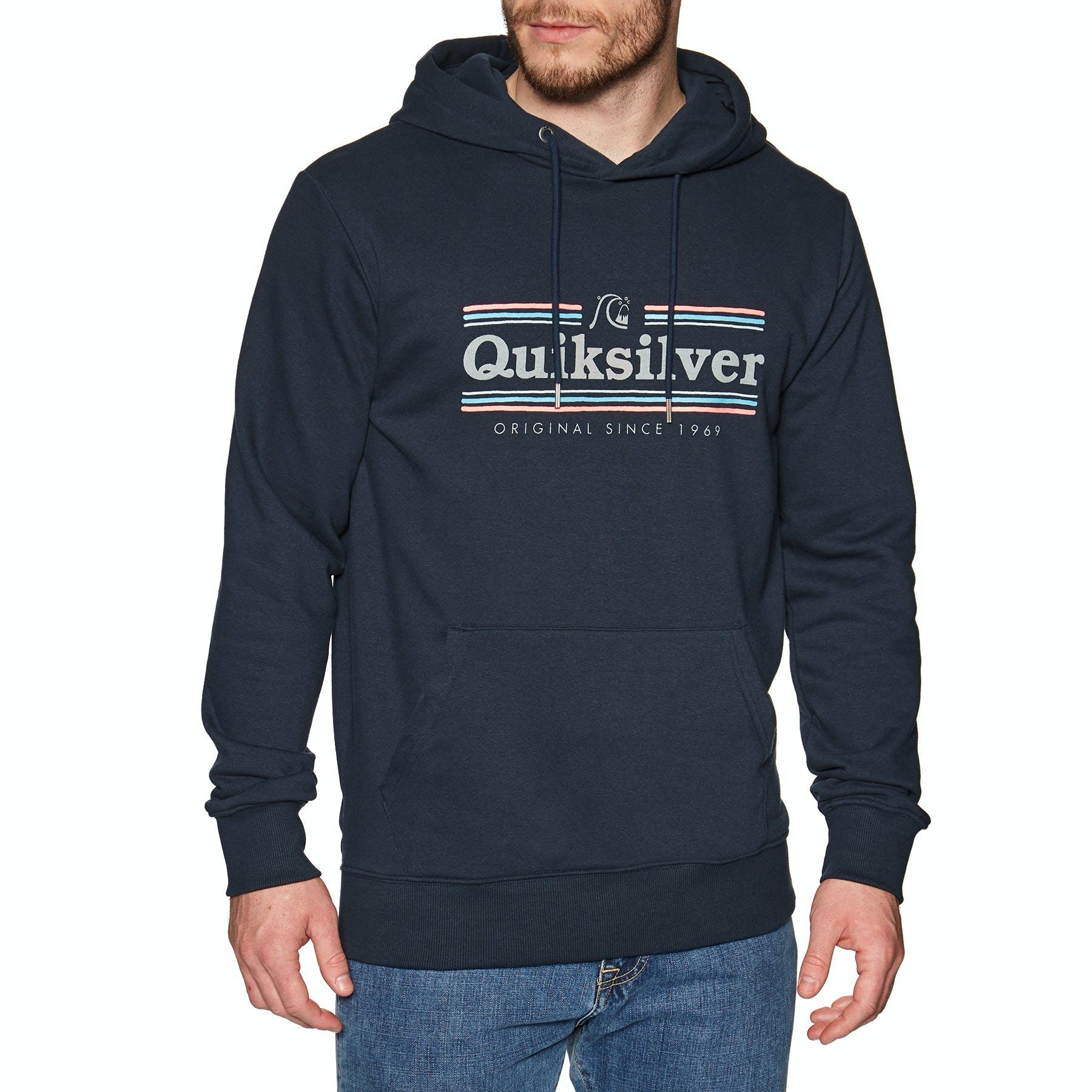 Quiksilver Mens Get Buzzy Screen Pullover