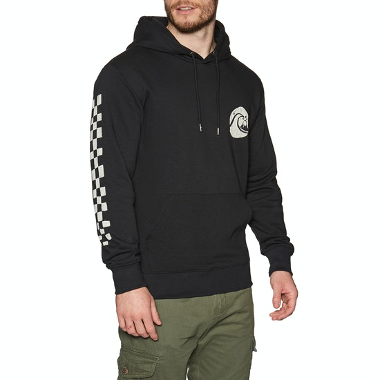 Quiksilver Quik Vinyl Screen Fleece Pullover Hoody