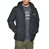 Quiksilver Scaly Hood Down Jacket - Black