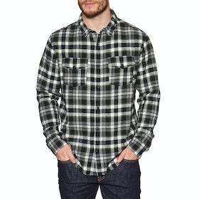 Quiksilver Snap Down Shirt - Black Snapup